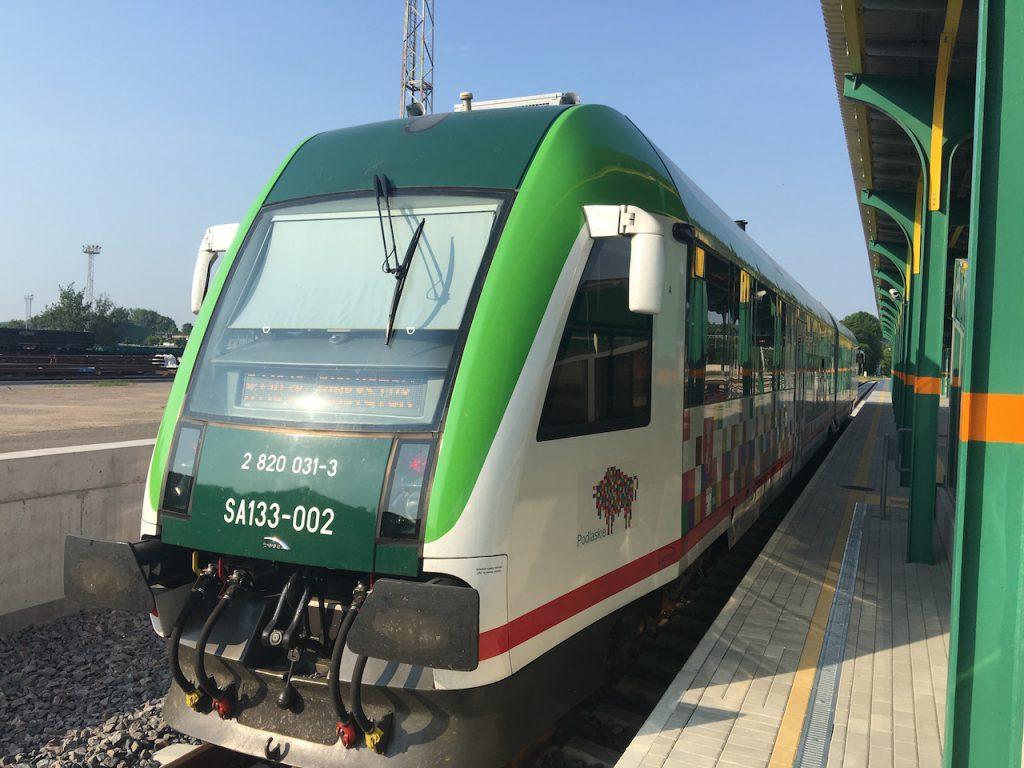 Zug Polen Litauen
