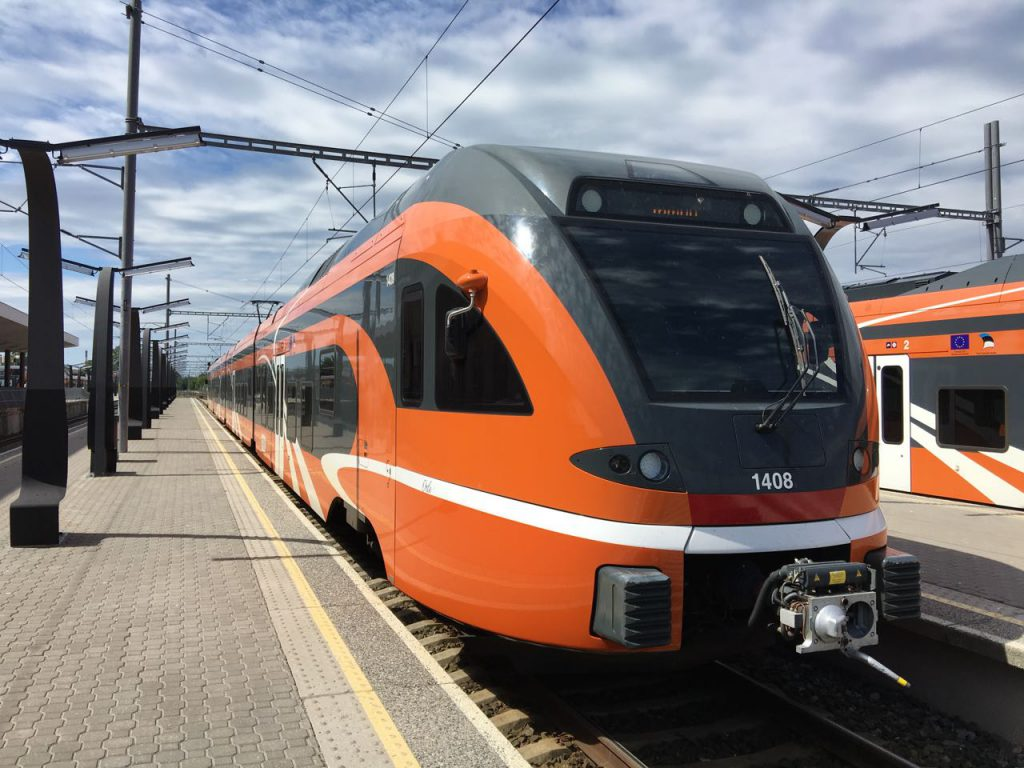 Zug Tallinn Riga