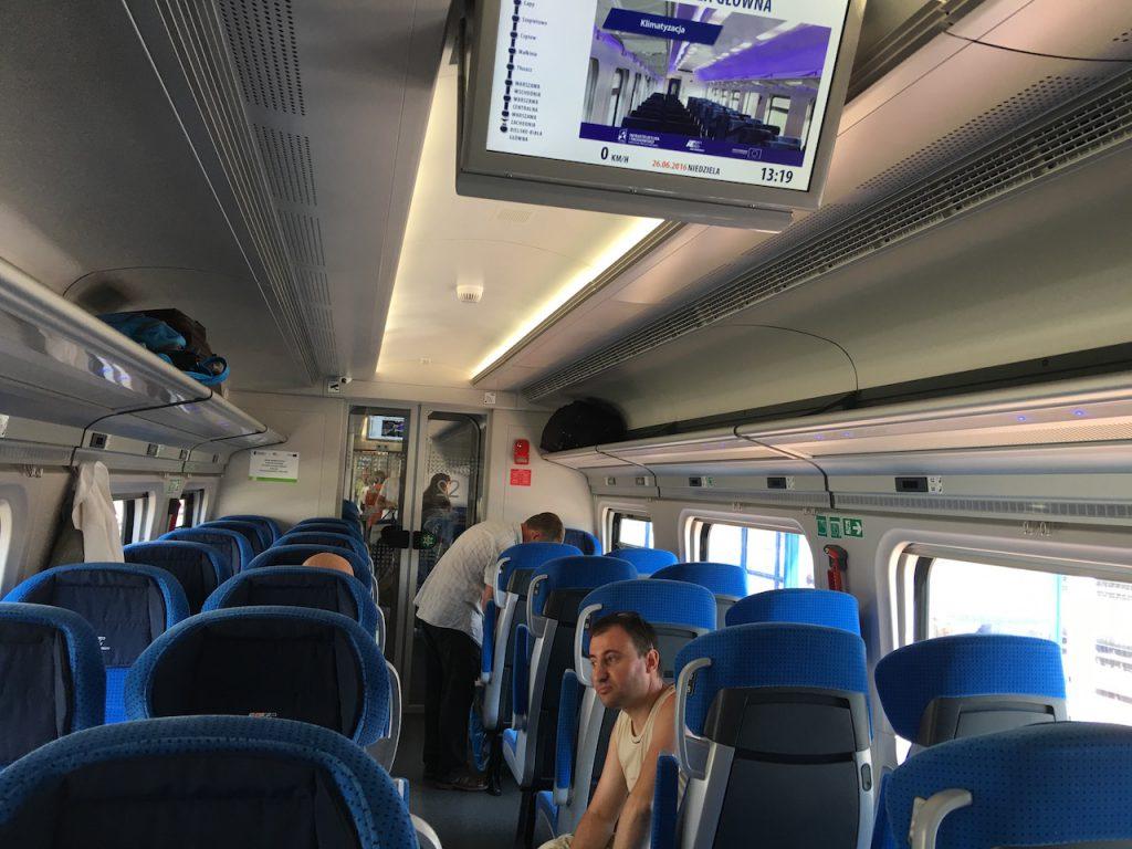 Zug Warschau Bialystok
