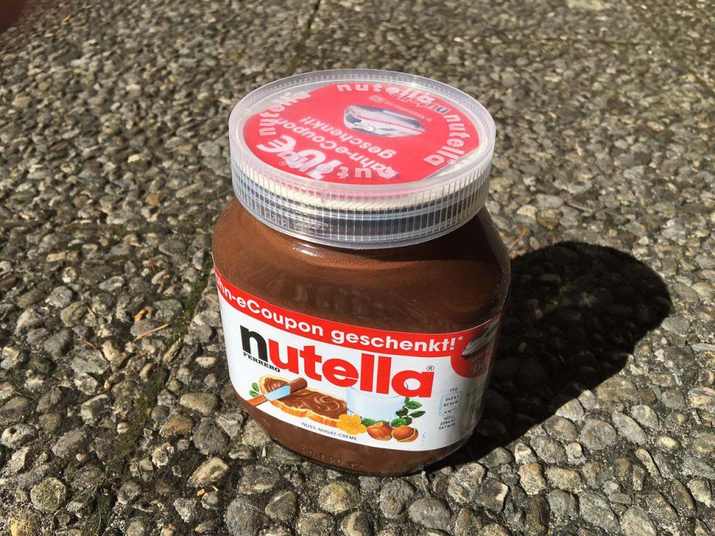 Nutella Bahnsinn