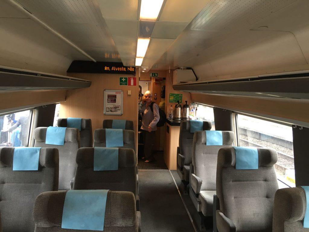 Schweden Zug Erste Klasse