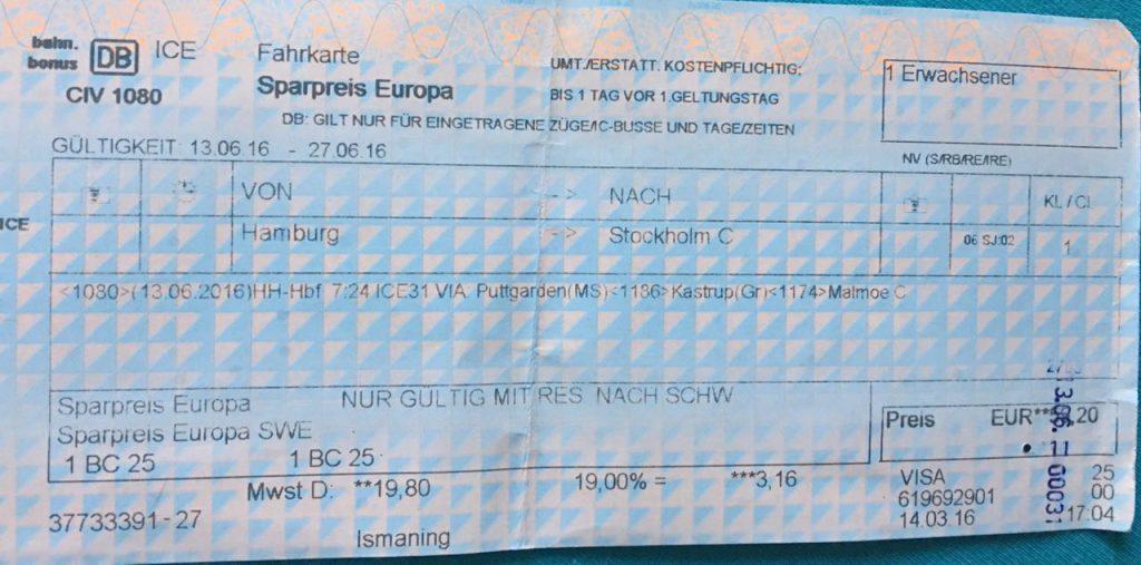 Sparpreis Europa Schweden