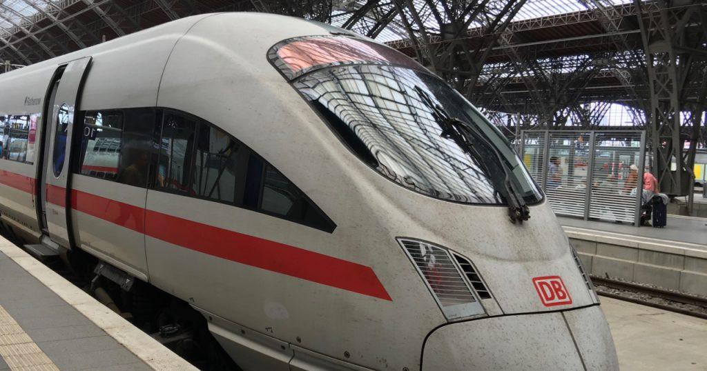 Deutsche Bahn Identifizierung Online-Ticket