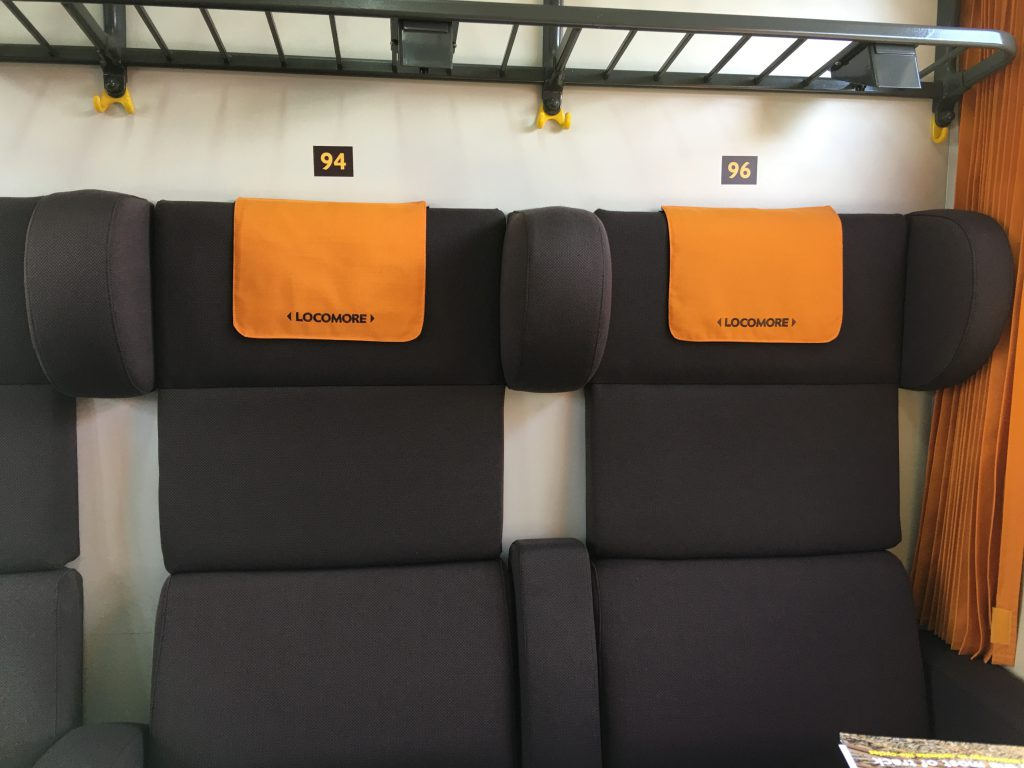 Locomore-Sitzplatz