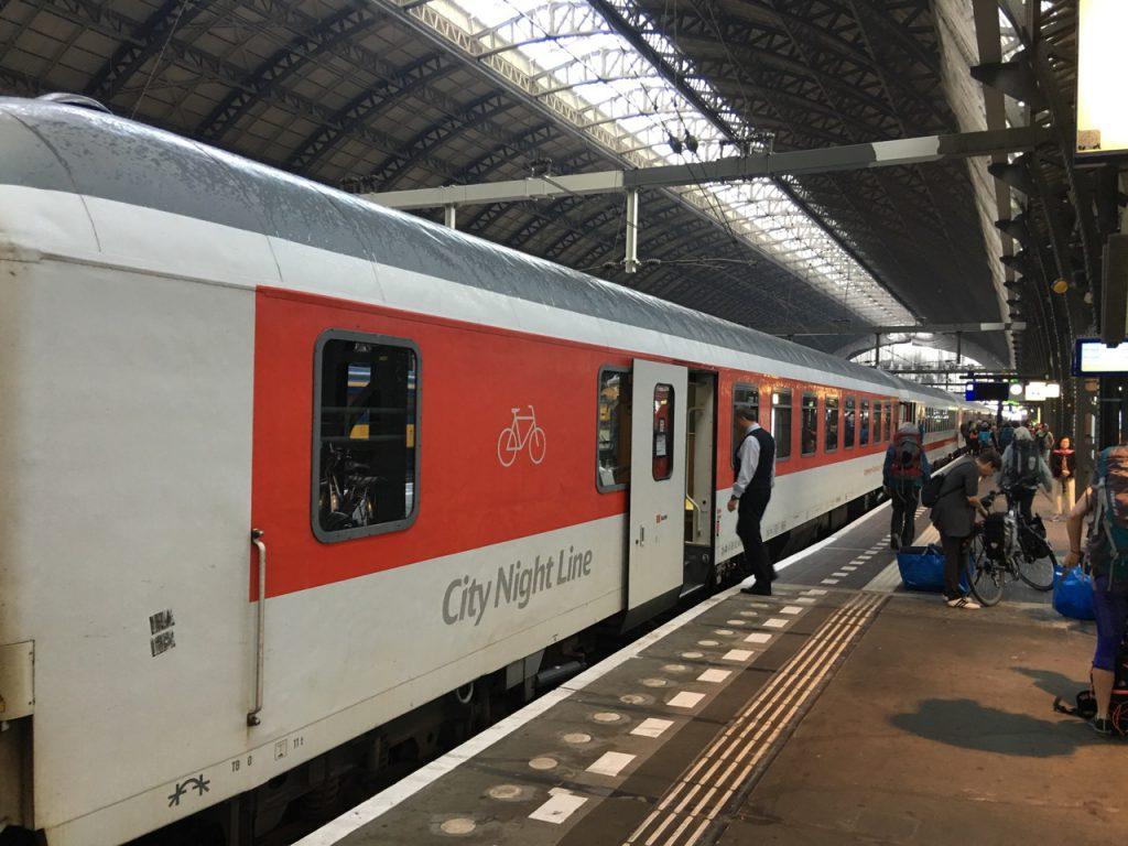 Nachtzug Amsterdam