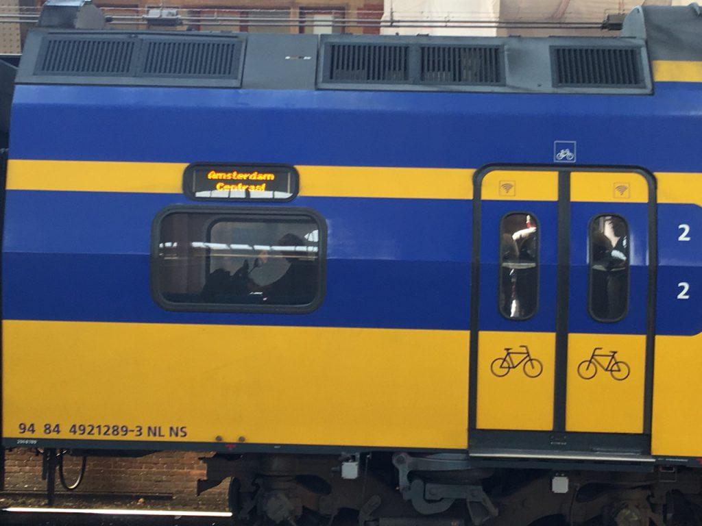 Niederlande Zug Fahrrad