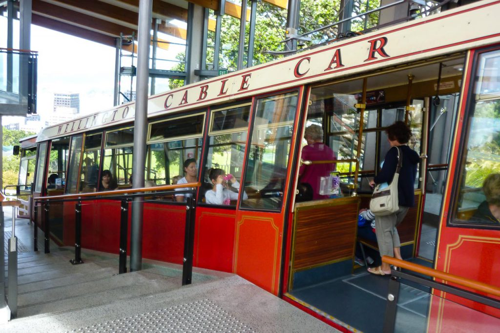 Wellington Cable Car Standseiland