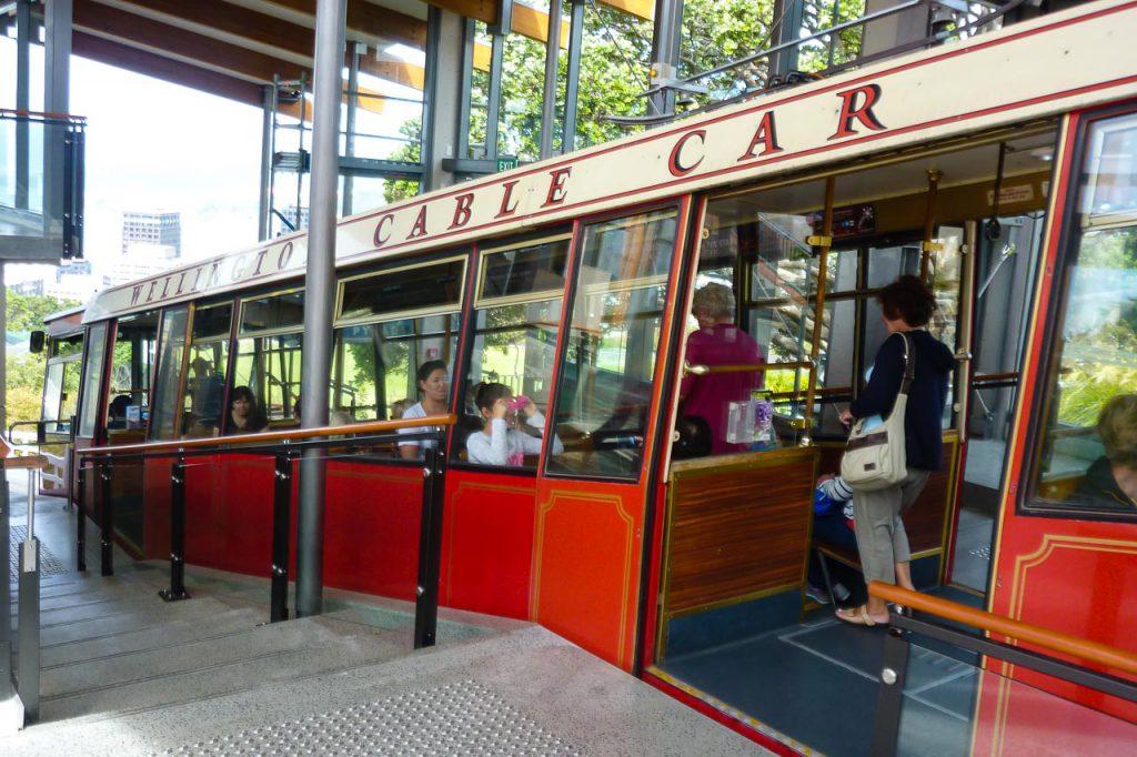 Wellington Cable Car Standseiland