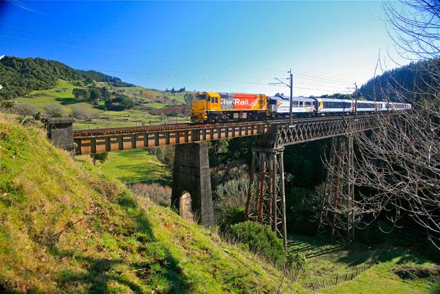 Zug Nordinsel Neuseeland