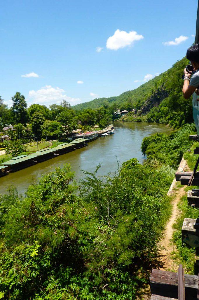 Zugticket Kanchanaburi und Nam Tok