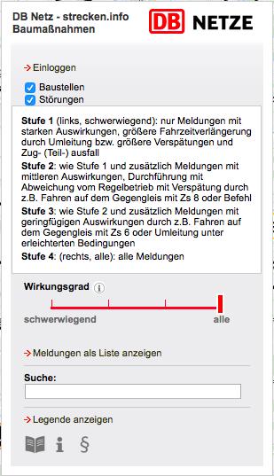 Bauarbeiten Deutsche Bahn