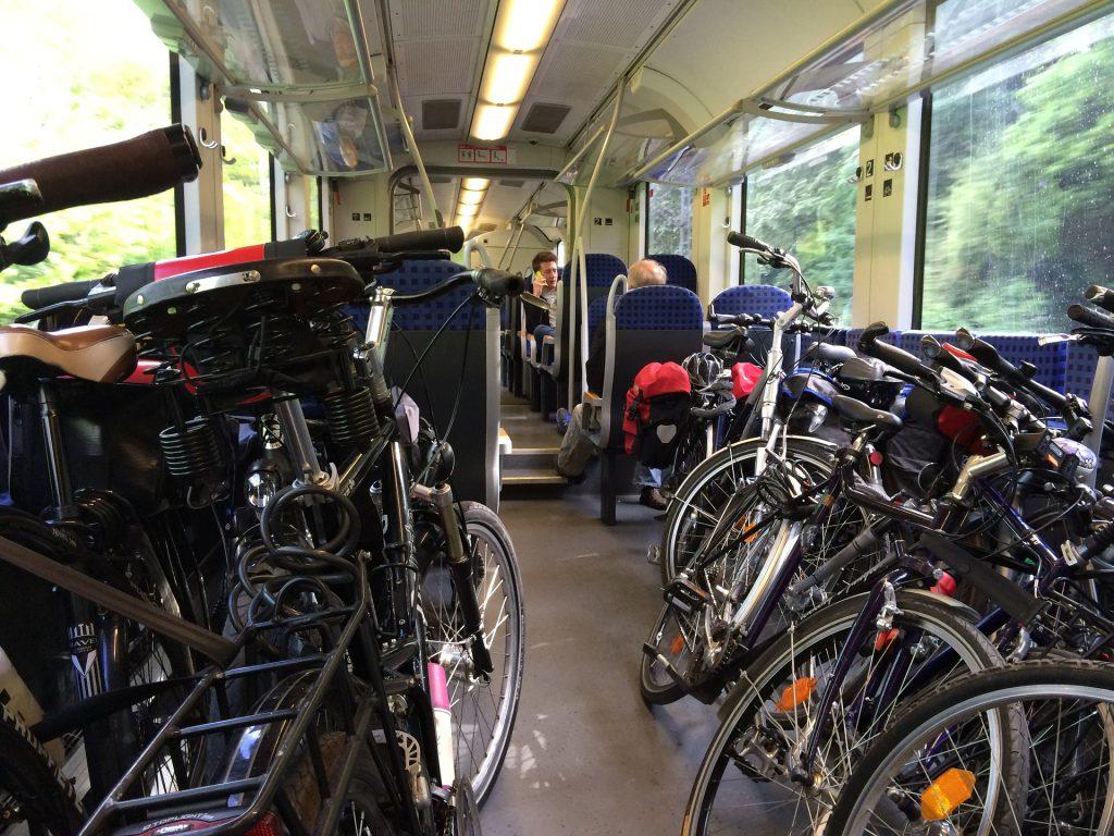 Gruppenticket Bahn Fahrrad