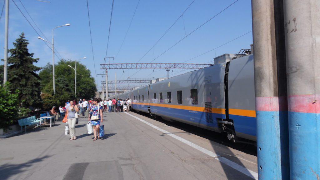 Zug Kasachstan China