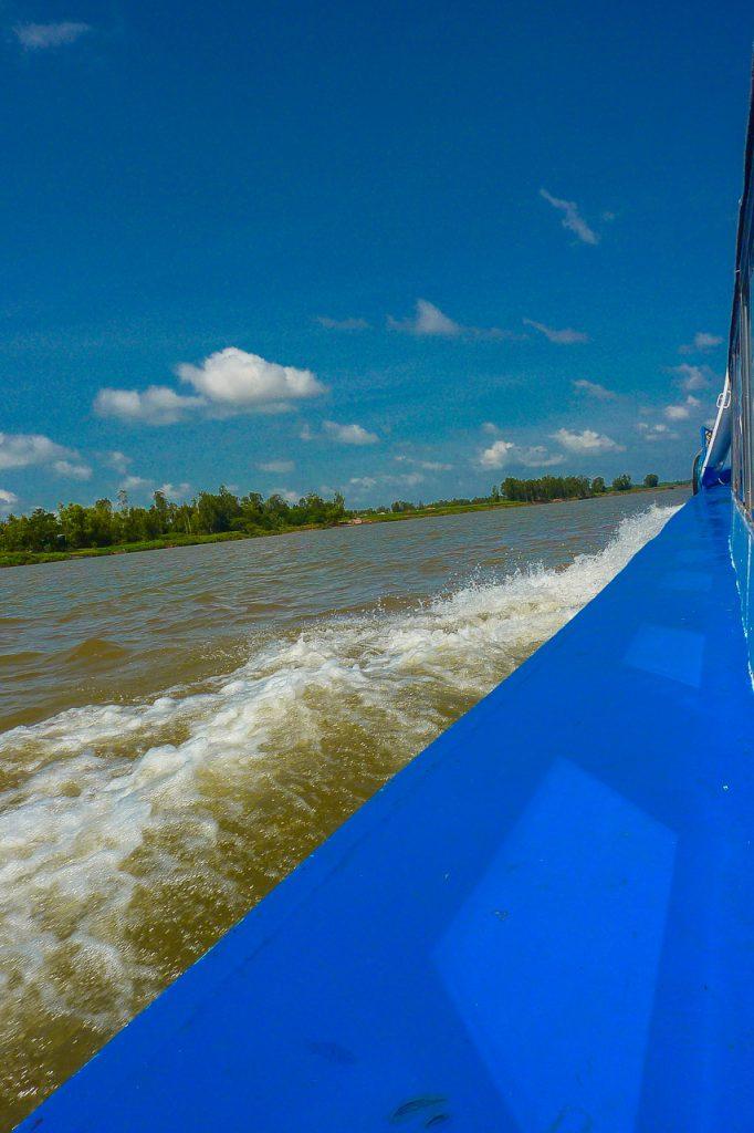 Speerboot von Chau Doc nach Phnom Penh