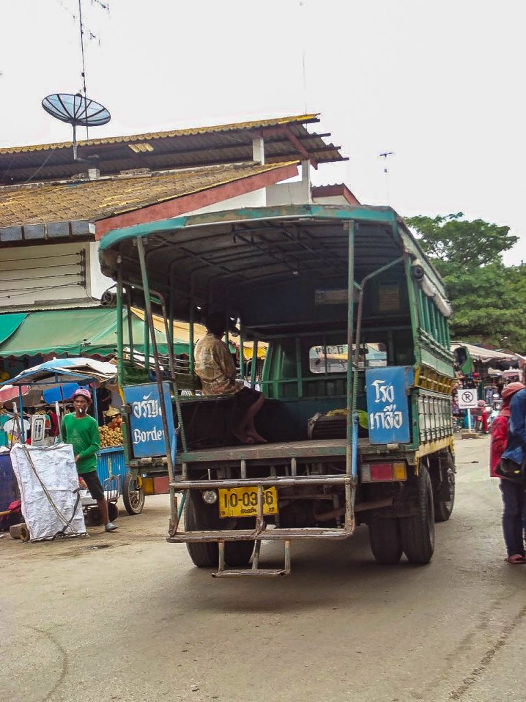 Thailand Kambodscha Grenze