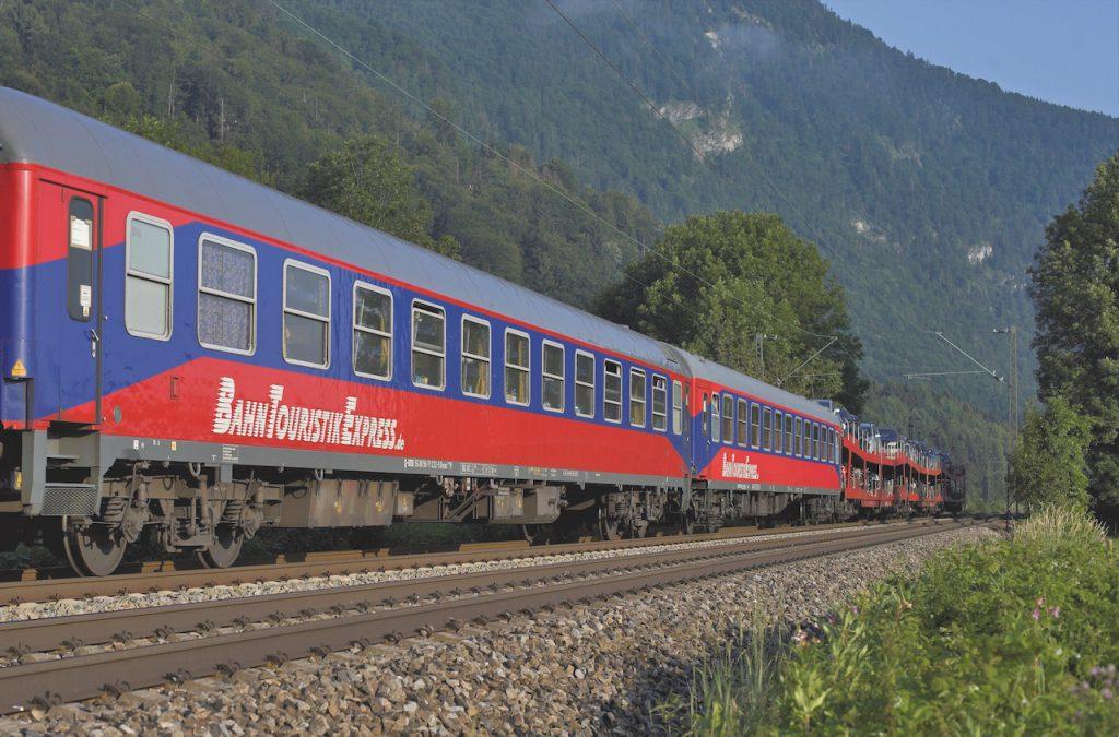 Autozug Hamburg Lörrach