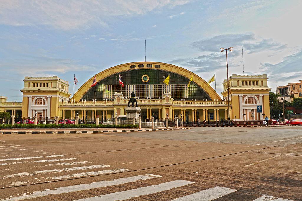 Hauptbahnhof Hua Lamphong in Bangkok