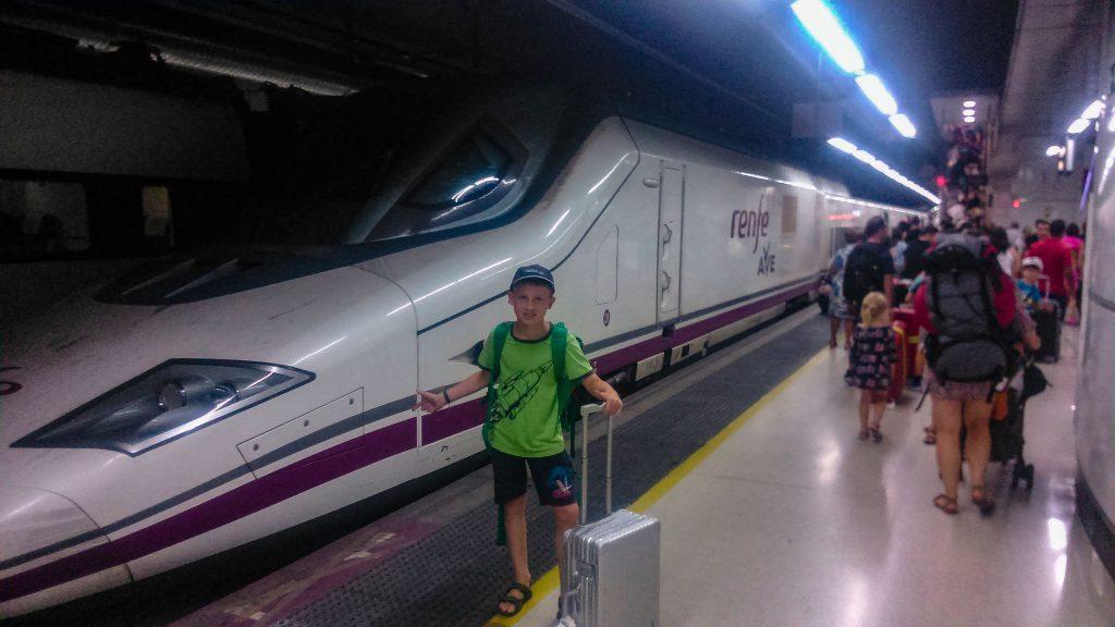 Interrail Familie