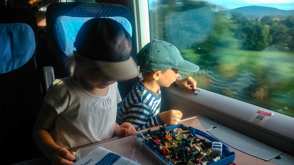 Interrail mit Kindern