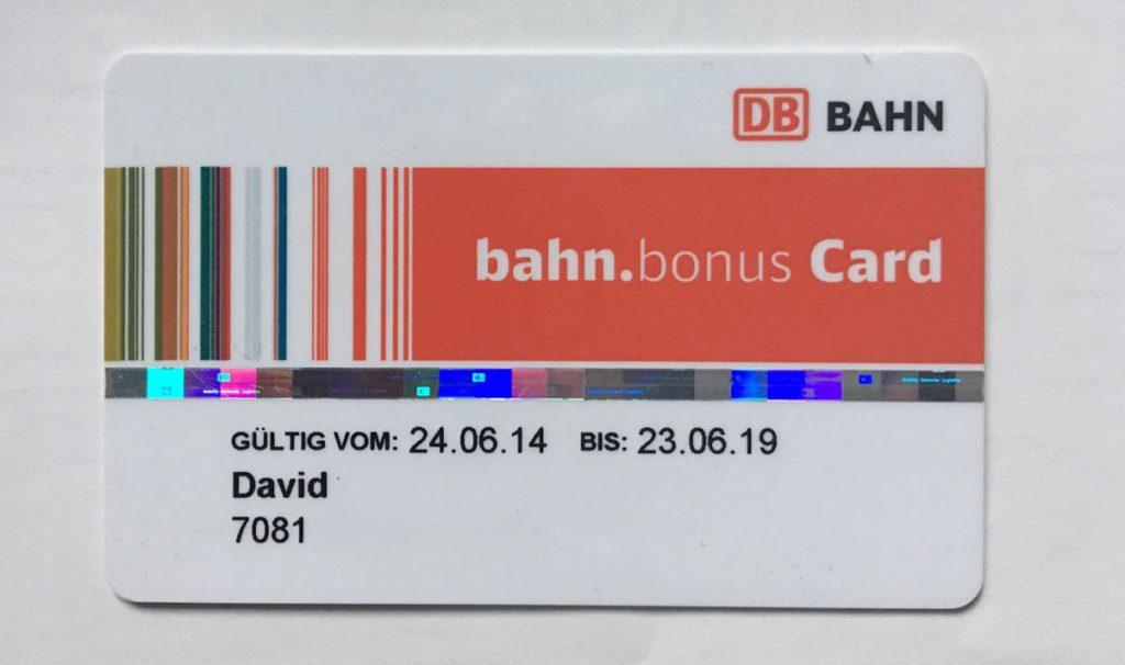 Bahn.Bonus Konto gesperrt