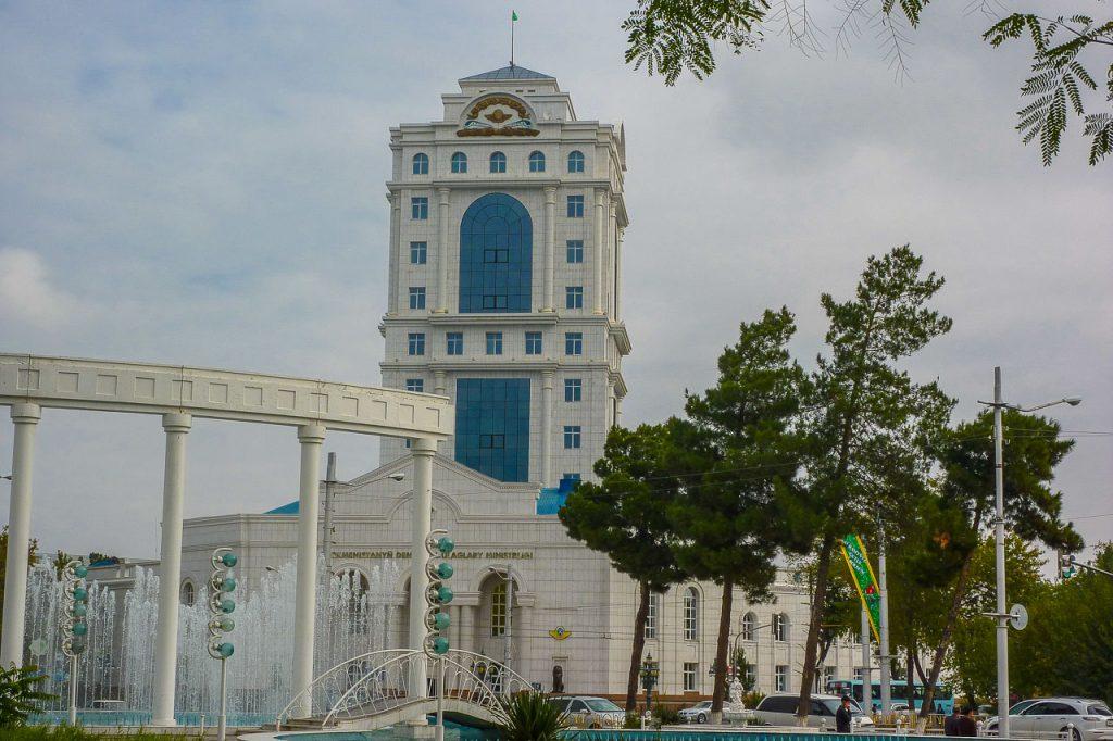 Zug Turkmenistan