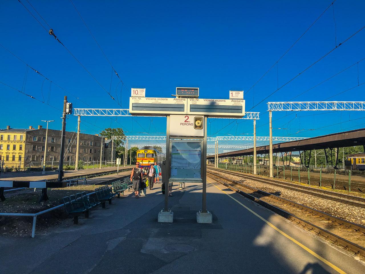Baltikum Eisenbahn