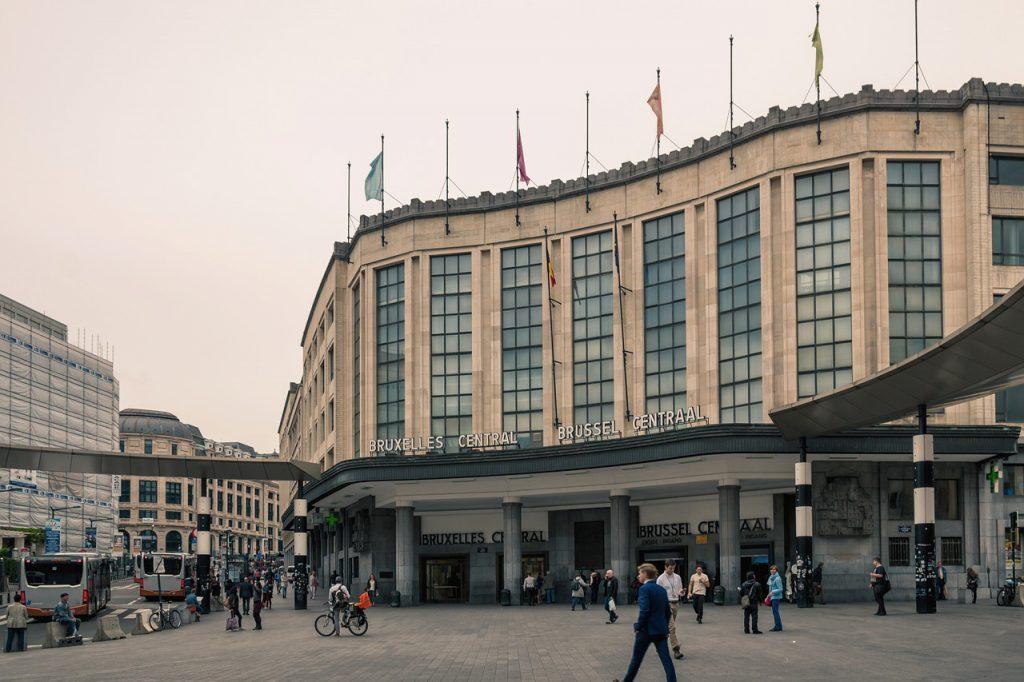 Interrail Zugreservierung Belgien