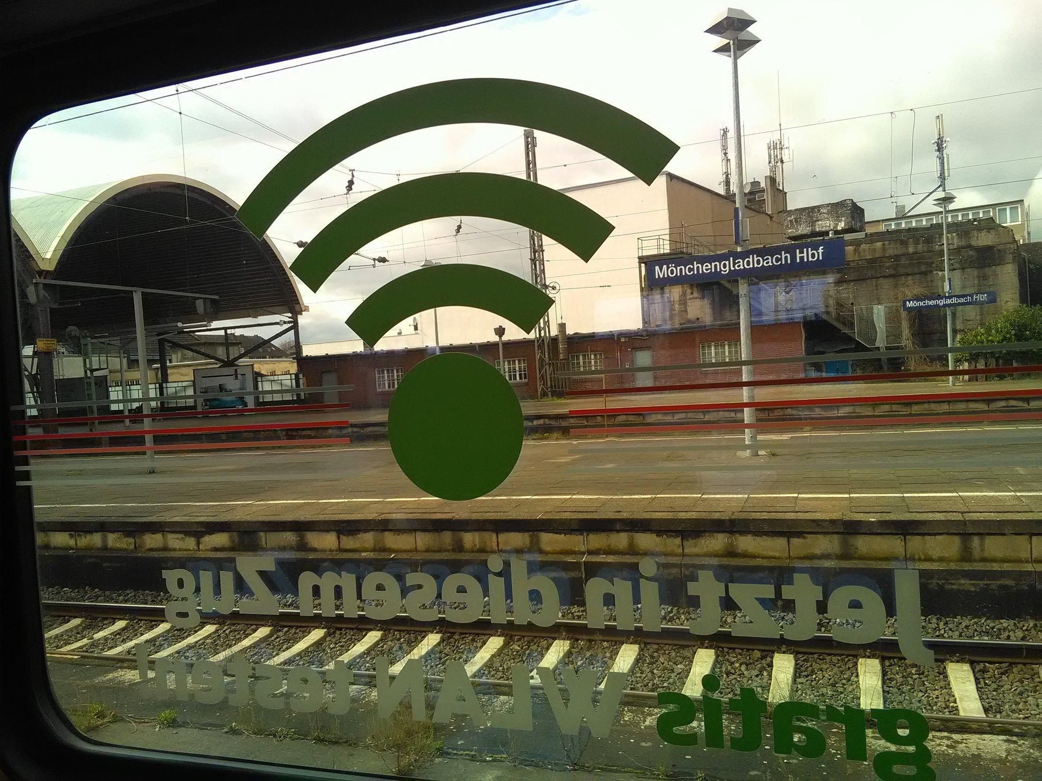 Bahn WLAN Überblick