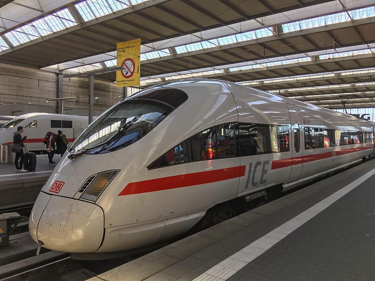 Deutsche Bahn Amazon