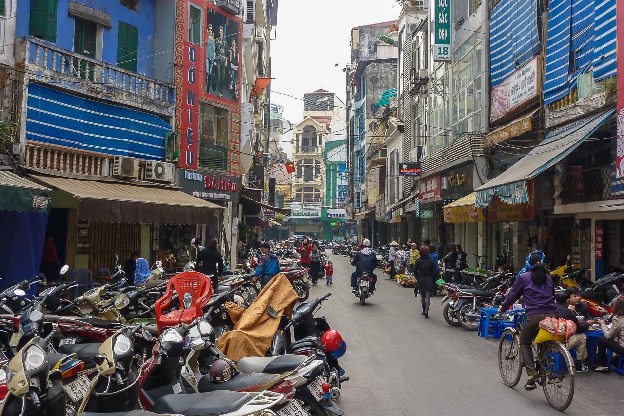Hanoi Altstadt