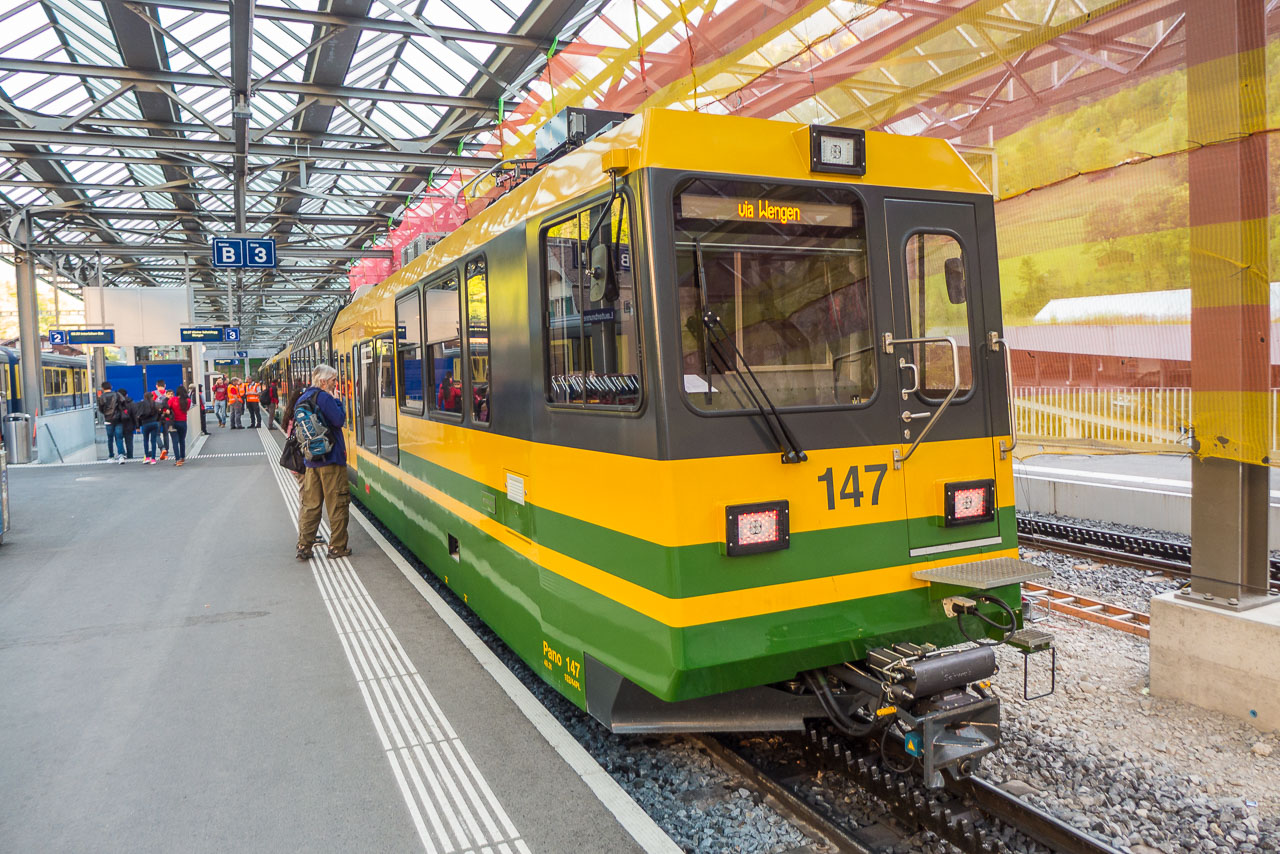 Bahn Jungfrau