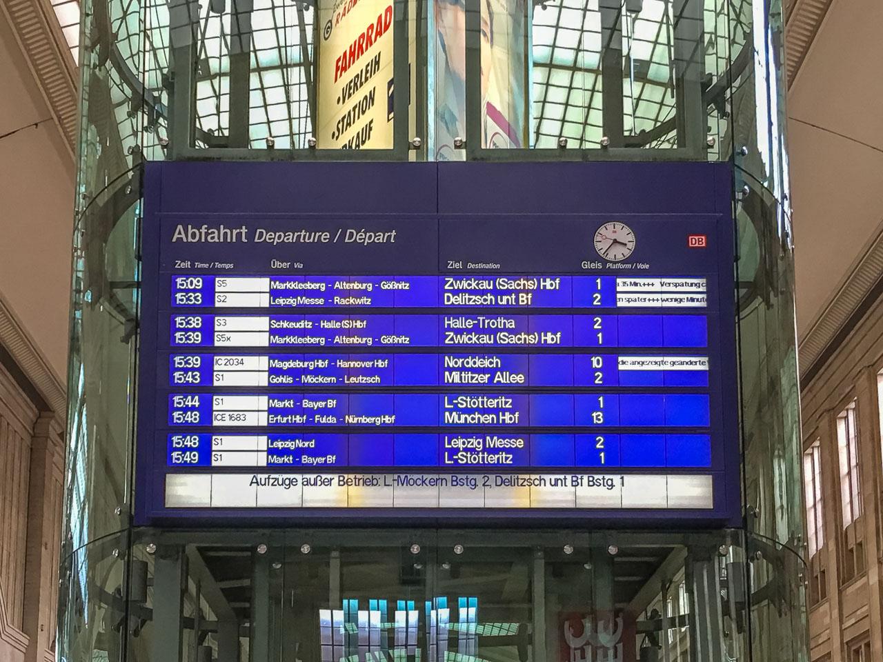 Bahn Sabotage Aktion