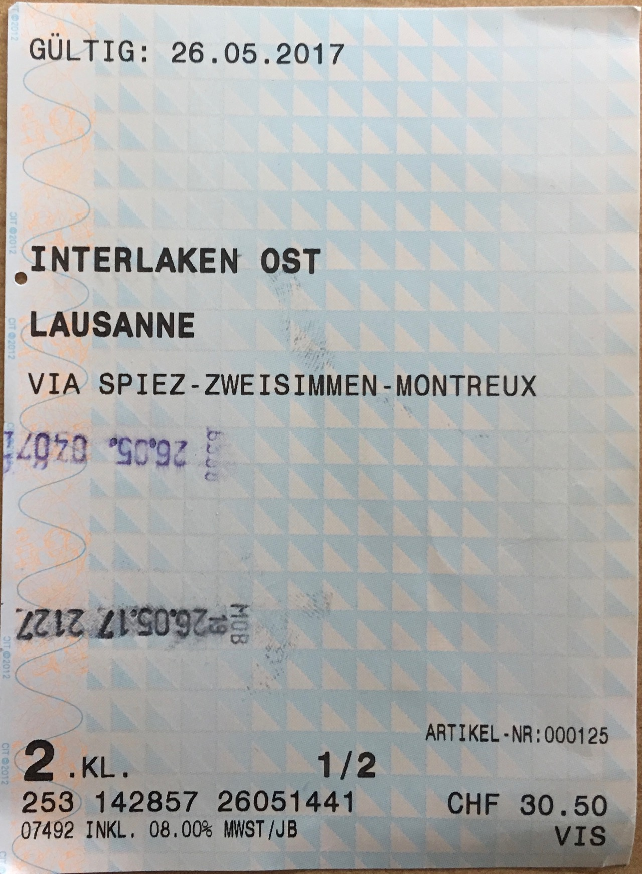 Golden Pass Line Ticket.