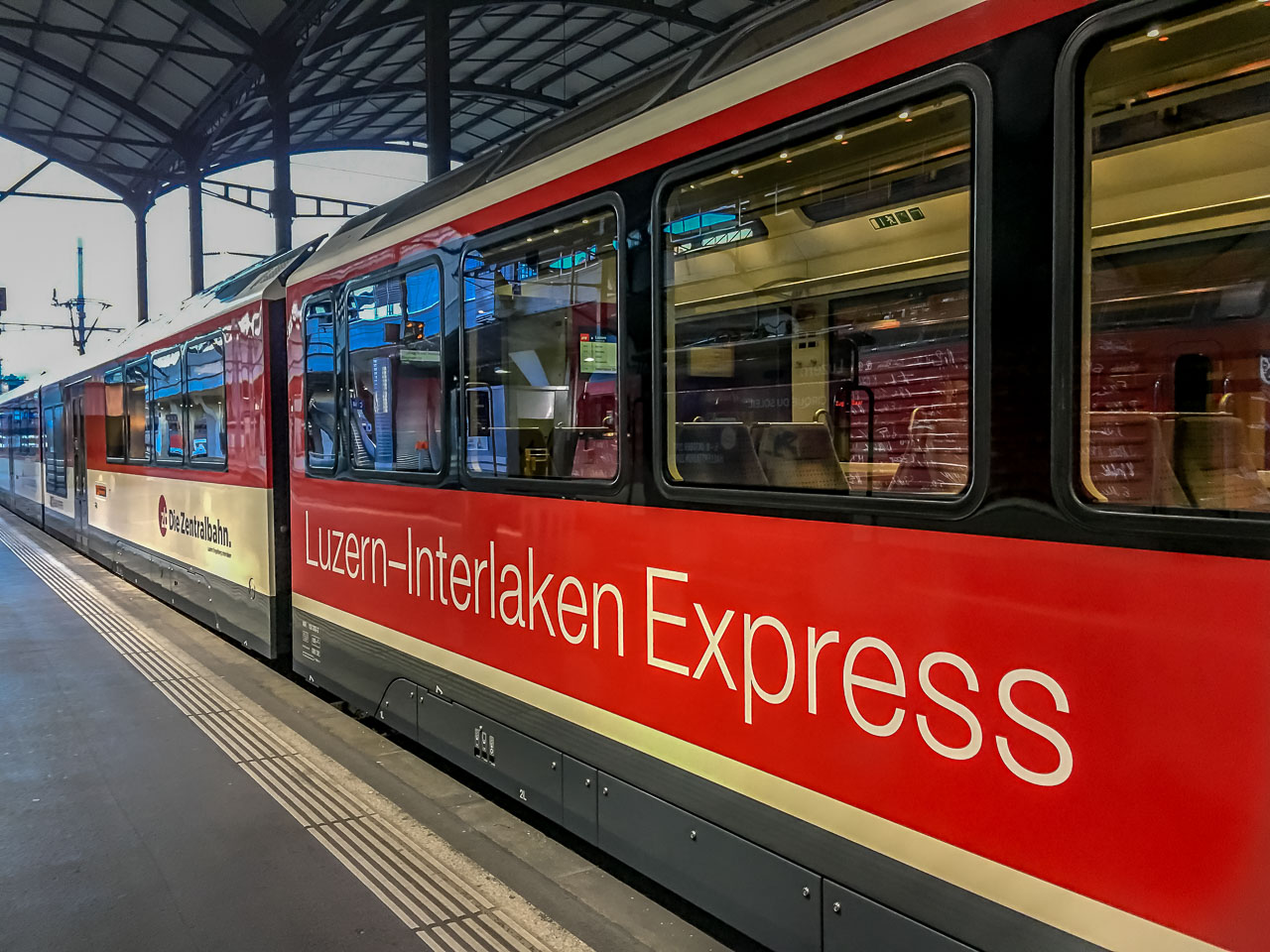 Golden Pass Luzern Interlaken