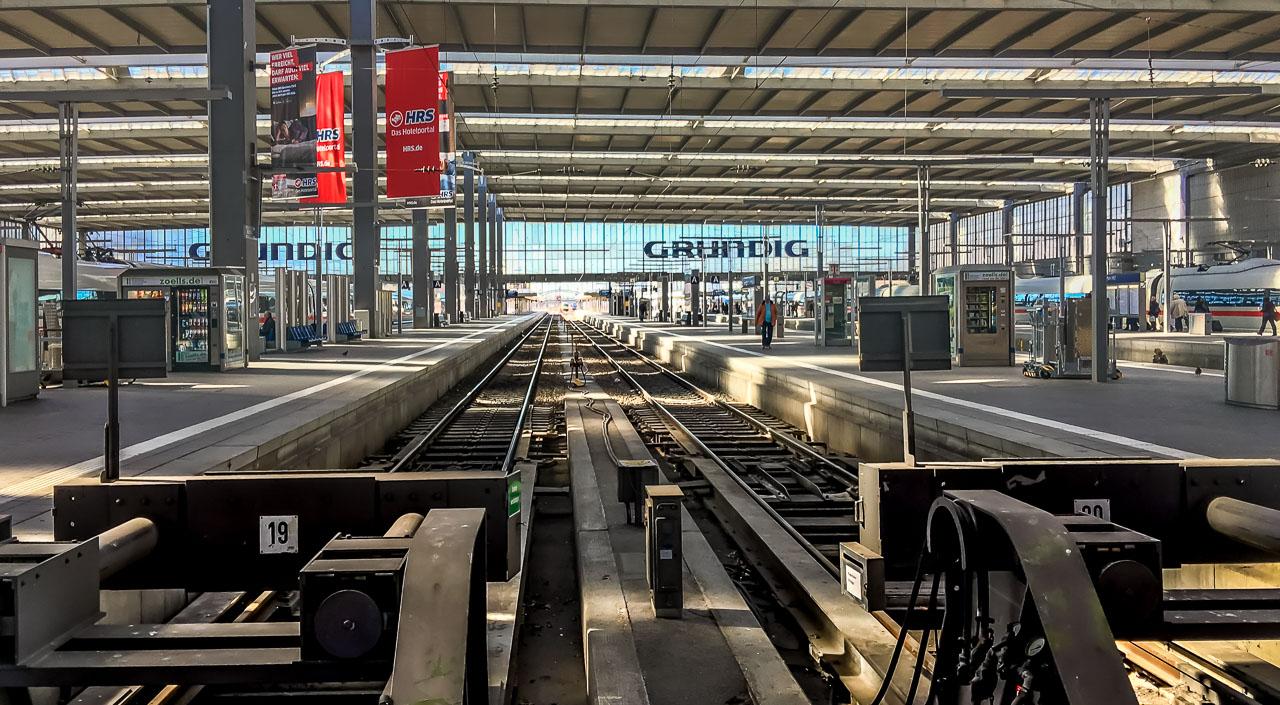 Bahn Pünktlichkeit