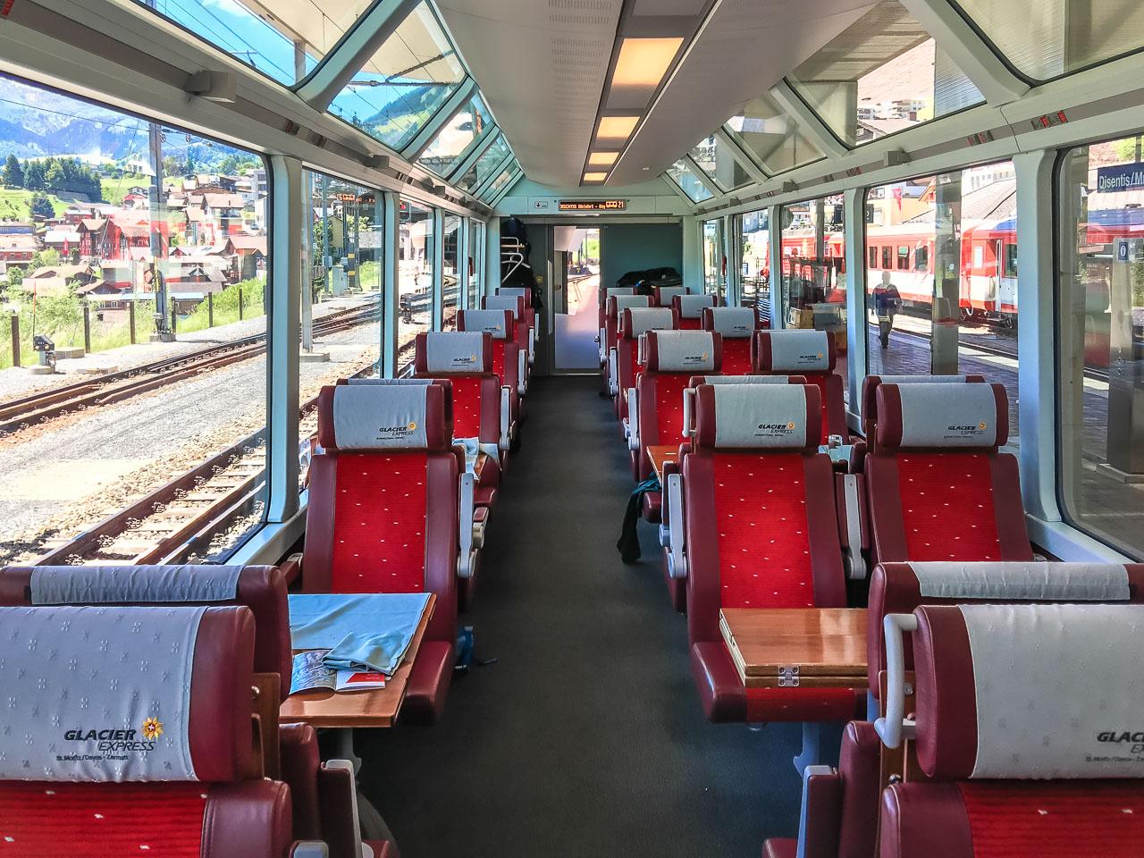 Glacier Express Ausstattung