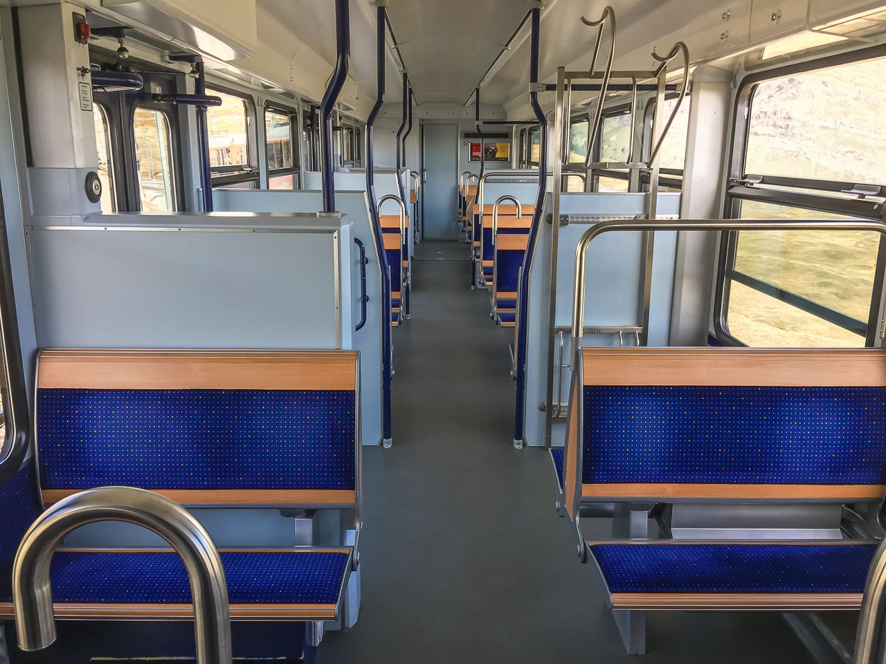 Gornergratbahn Ausstattung