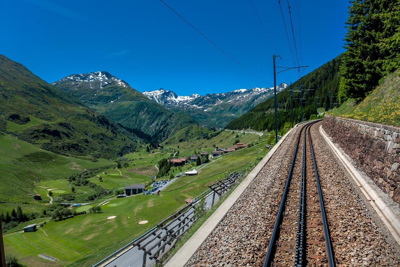 Oberalppass Schweiz
