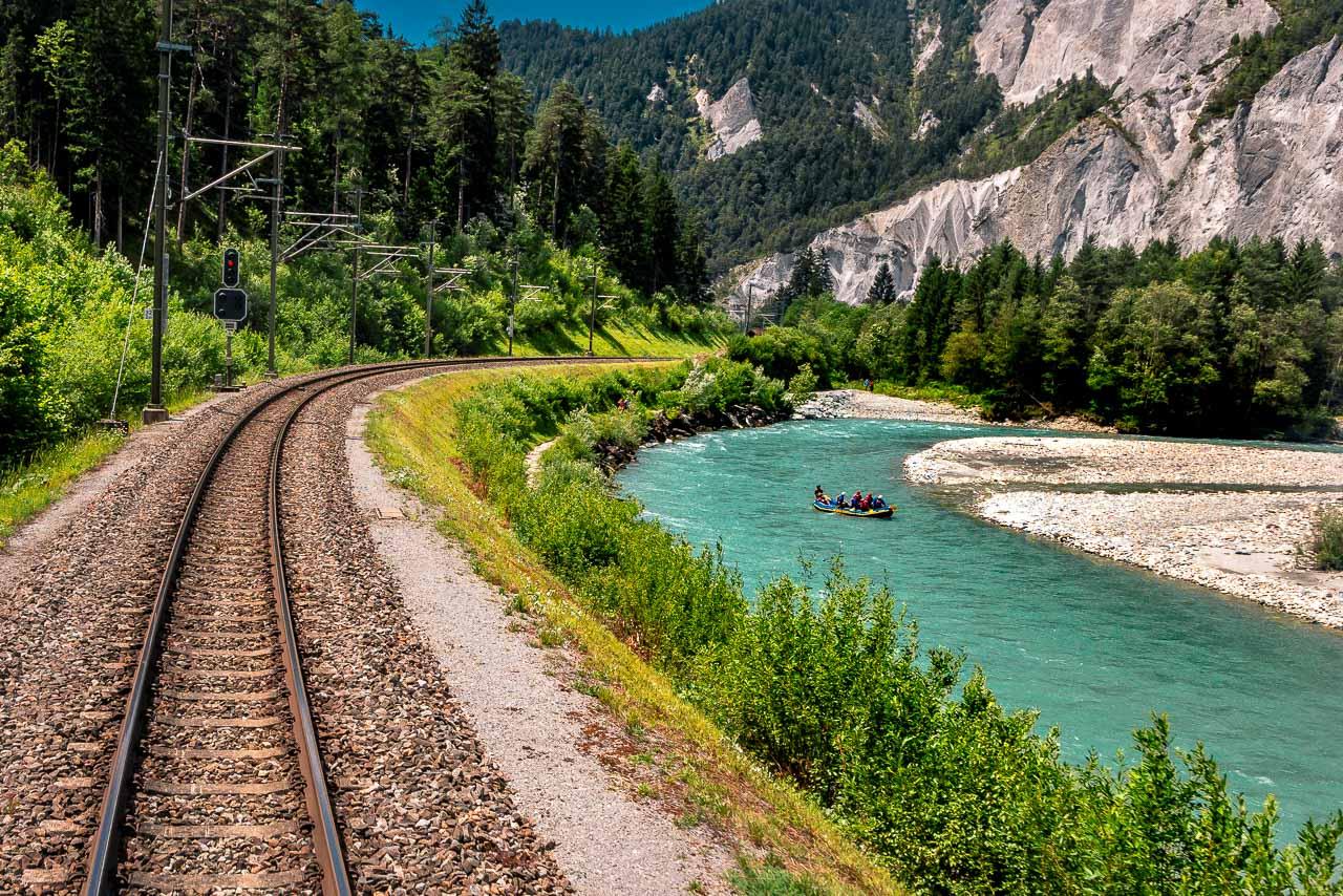 Rheinschlucht Schweiz