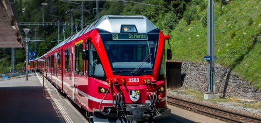 Albulabahn Schweiz