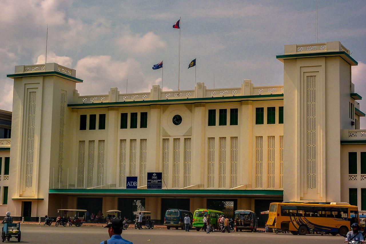 Kambodscha Zugtickets Bahnhof