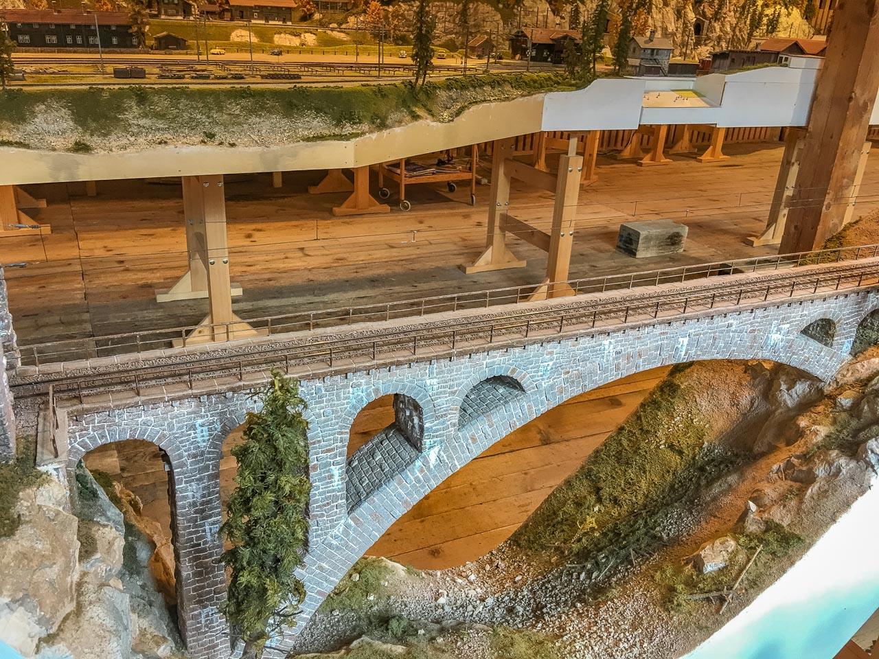 Kunstbauten Albula Bahnstrecke
