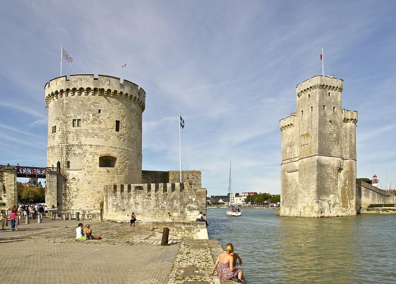La Rochelle Frankreich