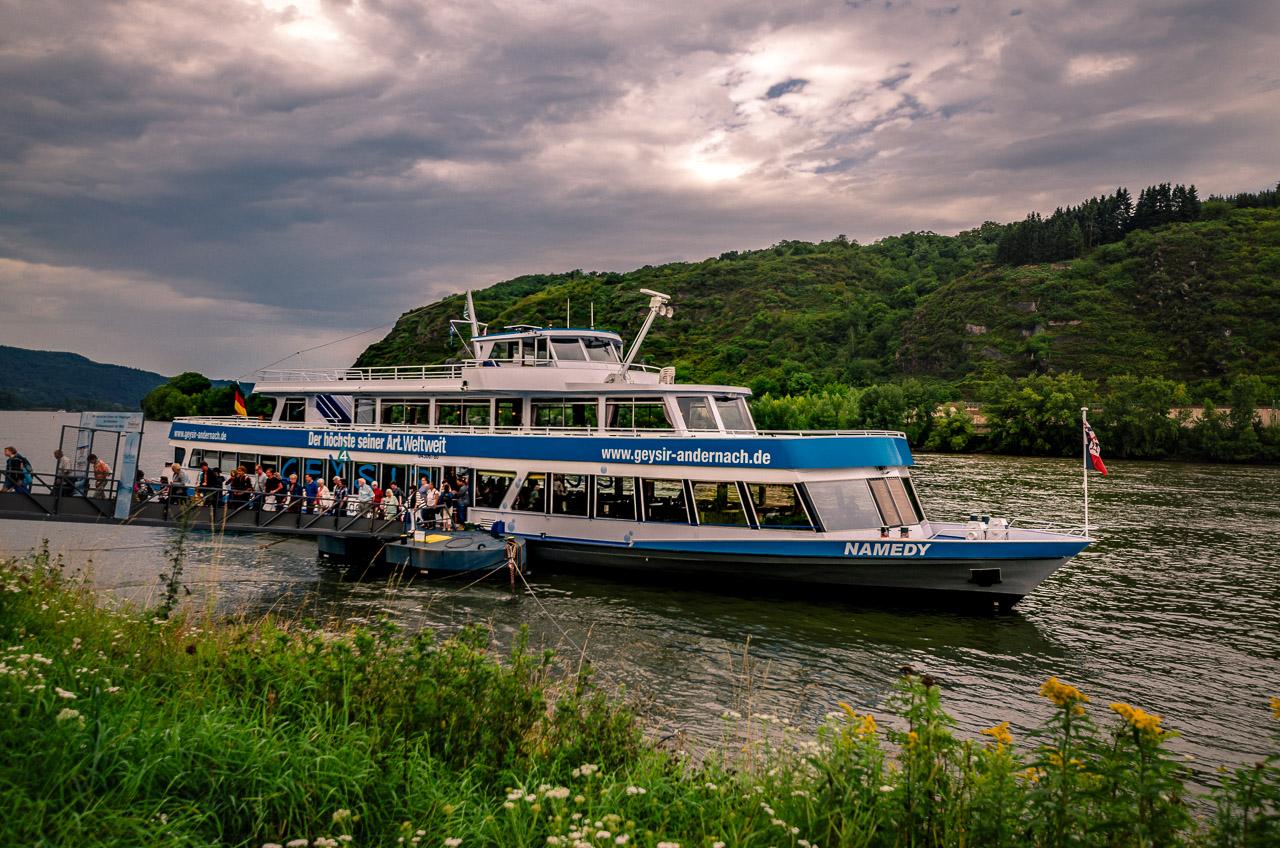 Schiff Geysir Andernach