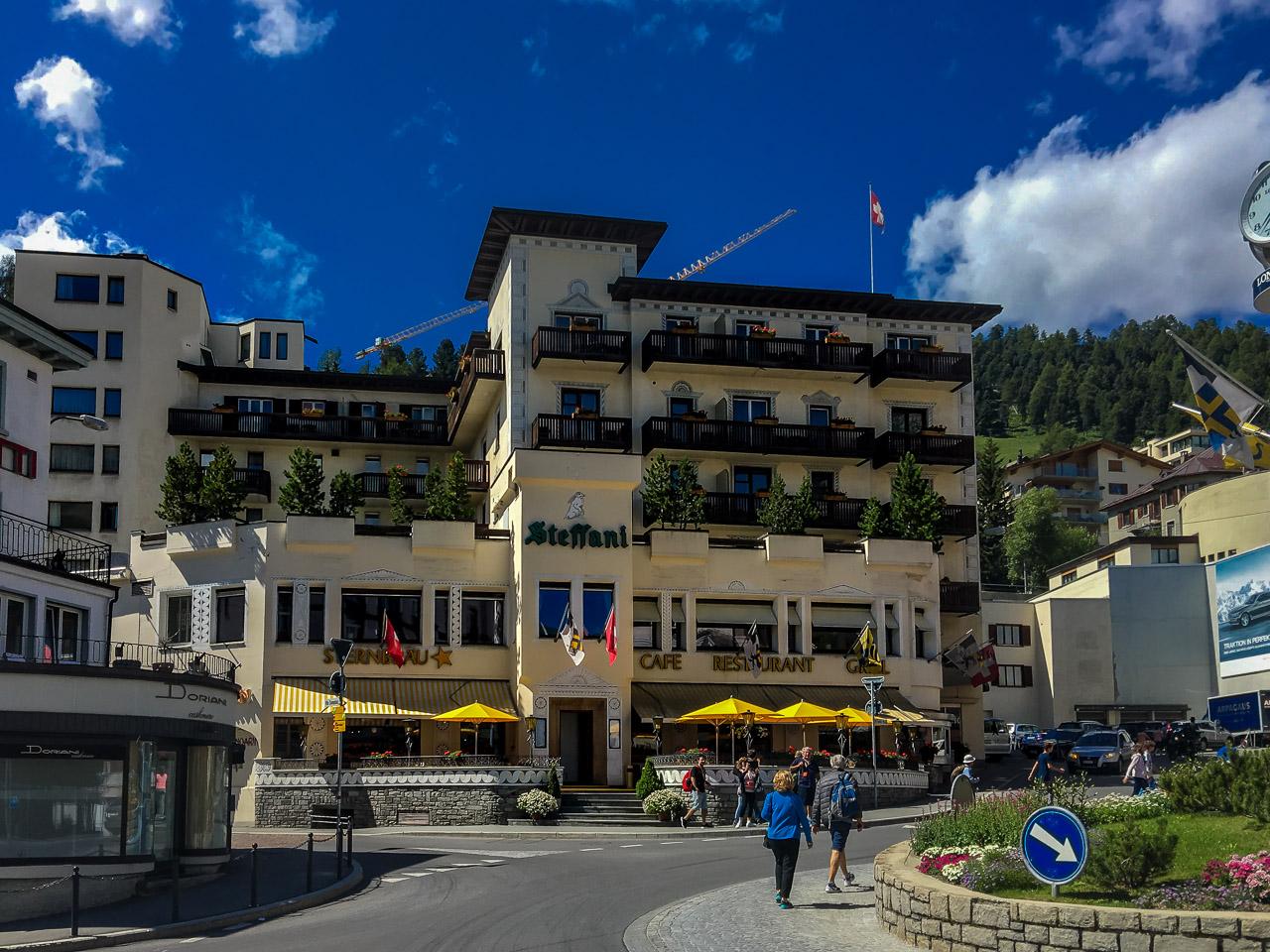 St Moritz Schweiz