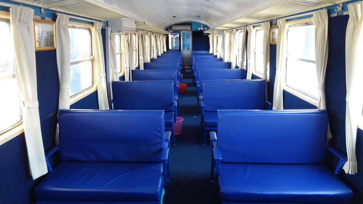Zug Kambodscha Ausstattung