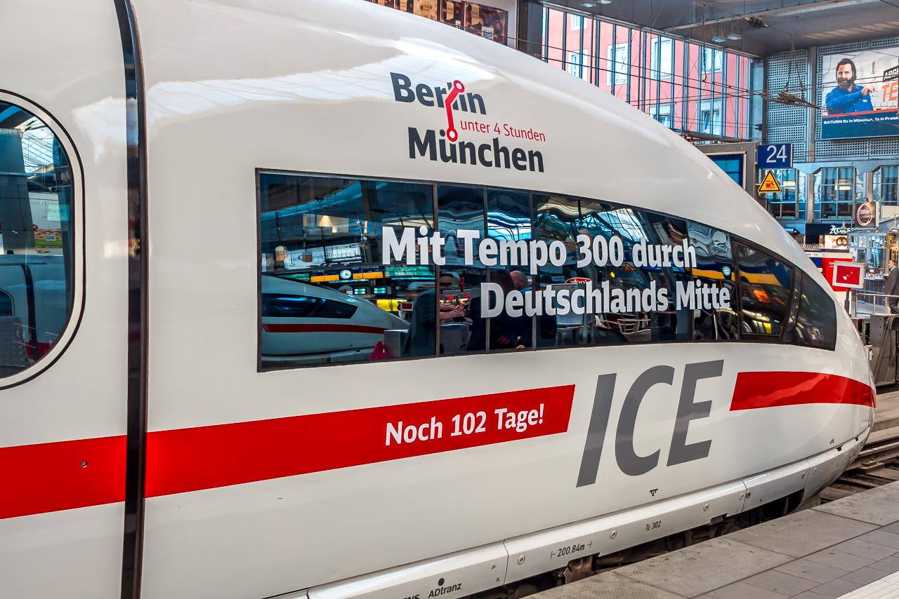 Zug München Berlin