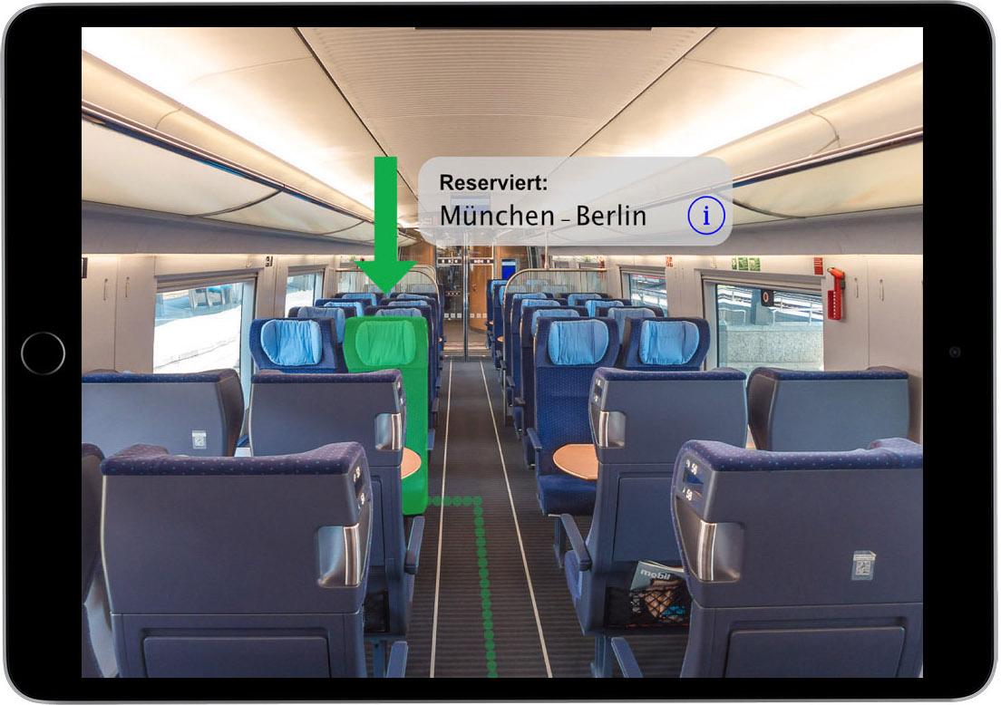ARKit Deutsche Bahn