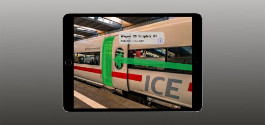 Augmented Reality Deutsche Bahn