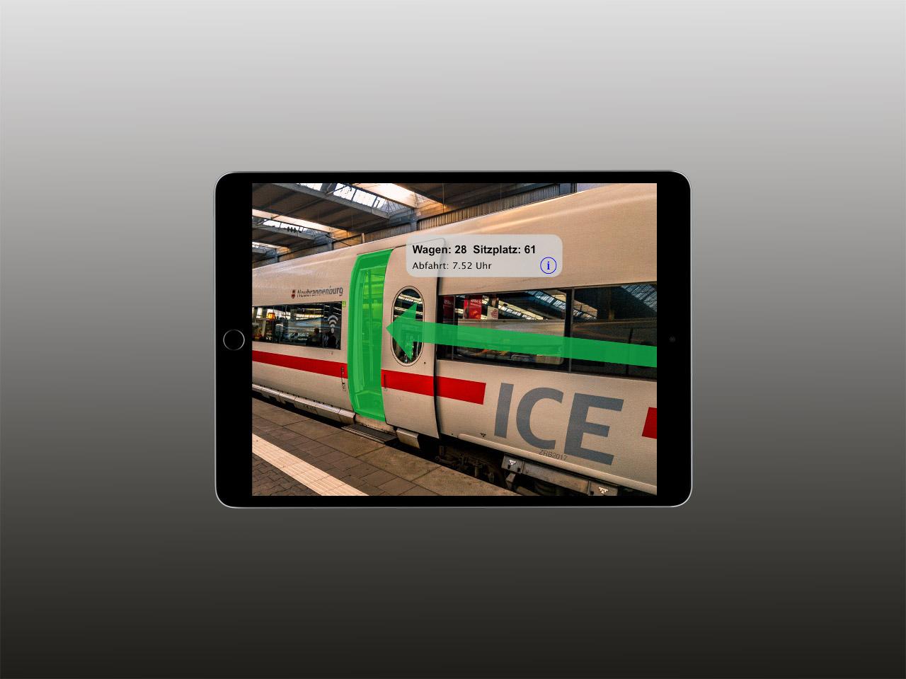 Augmented Reality Deutsche Bahn